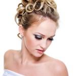 Ringlet Wedding Hairstyle